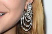 Barbara Palvin Dangling Diamond Earrings