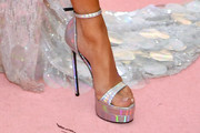 Jennifer Lopez Platform Sandals