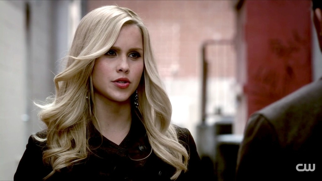 Claire Holt in The Vampire Diaries Season 3 Episode 18 ...