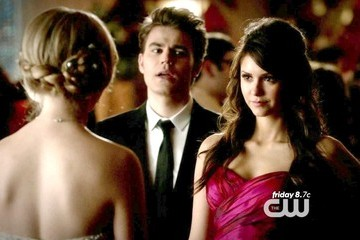 Paul Wesley Nina Dobrev The Vampire Diaries Season 4 Episode 19